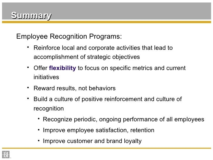 Employee Reward And Recognition