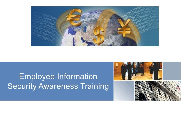 Employee Information Security Awareness Training
