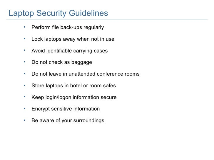 Employee Security Training 1