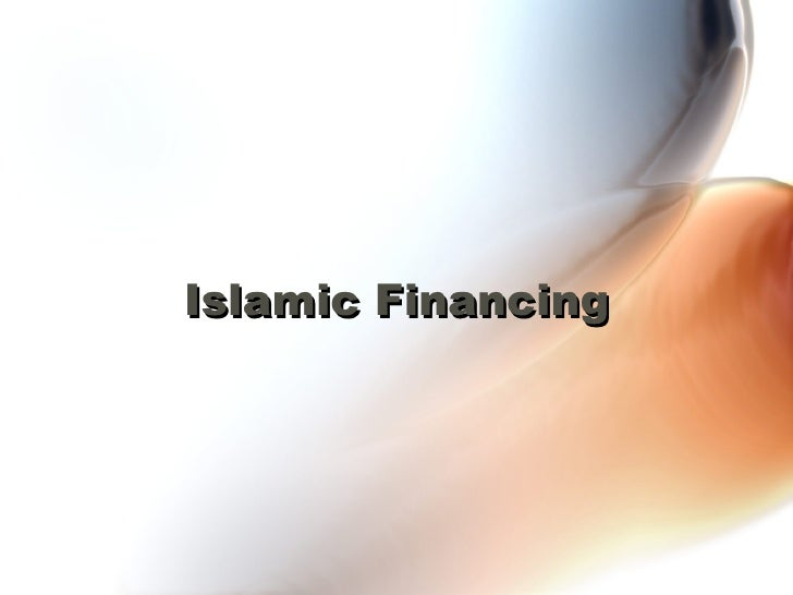 islamic financing The profit rate charged may be fixed or floating floating rate is typically based on the base financing rate (bfr) plus/minus profit spread eg bfr+200% and the.