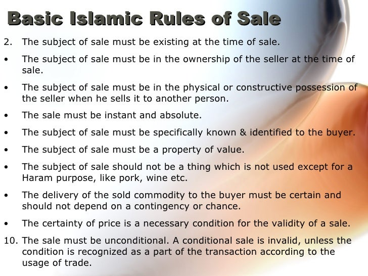 rule muslim A code of practice for muslims in the west - marriage » general rules.