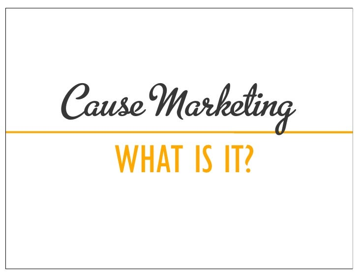 A Guide to Cause Marketing (With Examples) | Brandwatch