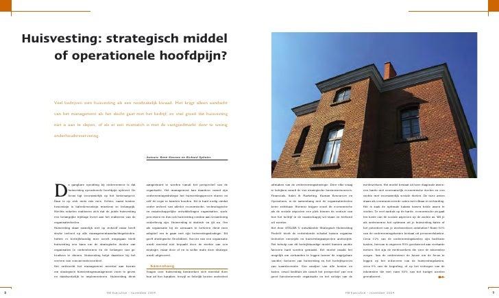 Huisvesting: strategisch middel          of operationele hoofdpijn?           Veel bedrijven zien huisvesting als een nood...