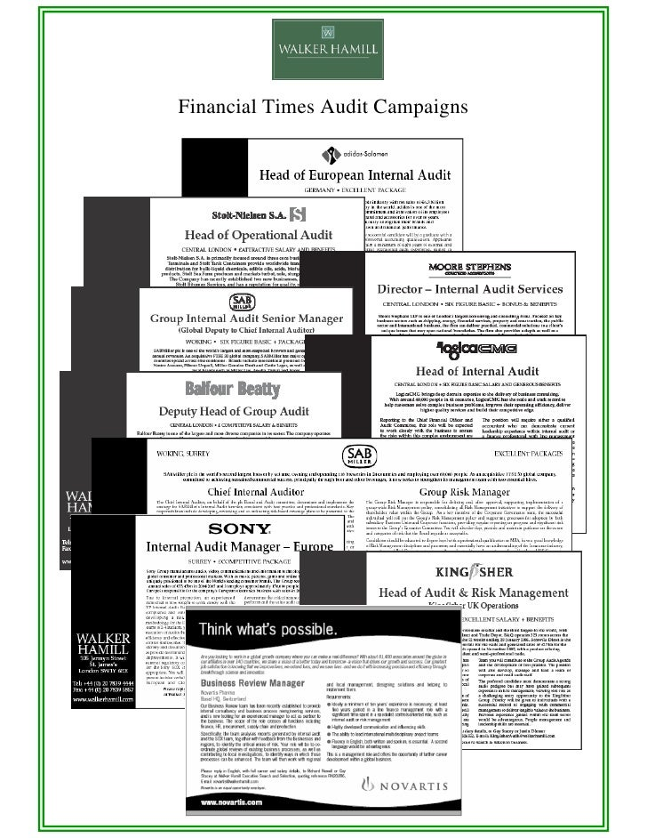 Financial Times Audit Campaigns