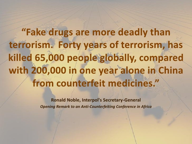 Quotes About Drugs | Fake Drugs Quote