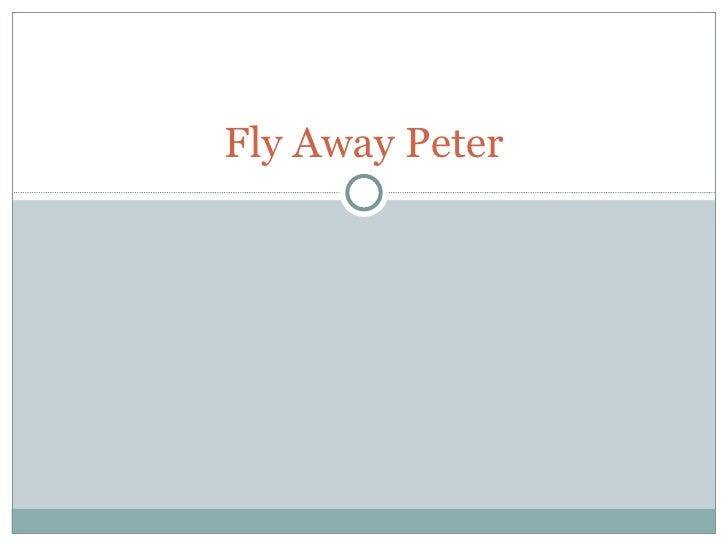 fly away peter chapter summaries