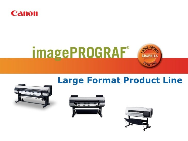 Large Format Product Line