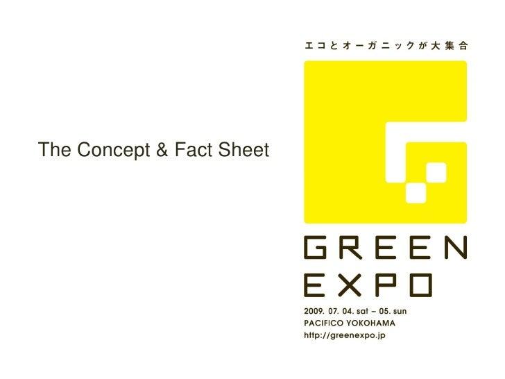 The Concept & Fact Sheet