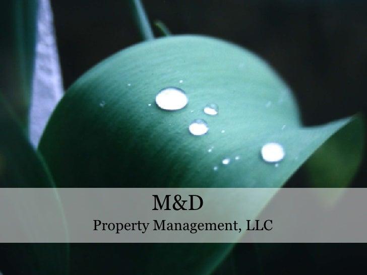 M&D Property Management, LLC