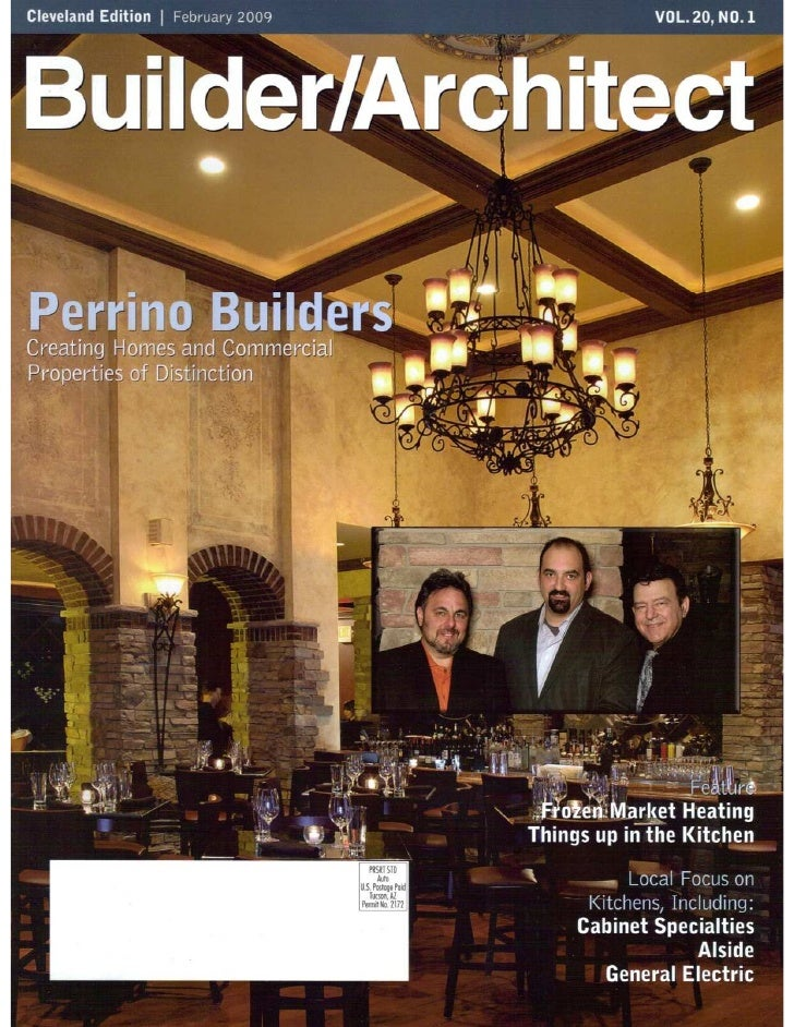 Grotto Wine Bar featured in Builder Architect Magazine