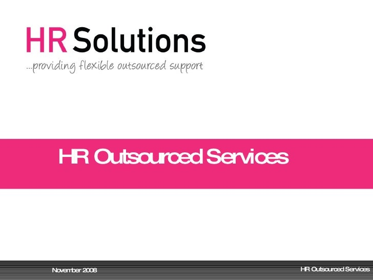 HR Outsourced Services