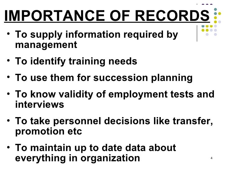 HR Records & Reports