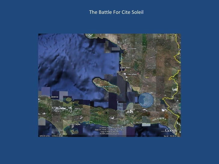 The Battle For Cite Soleil