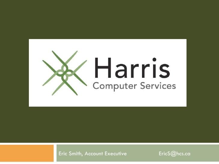 Eric Smith, Account Executive  [email_address]