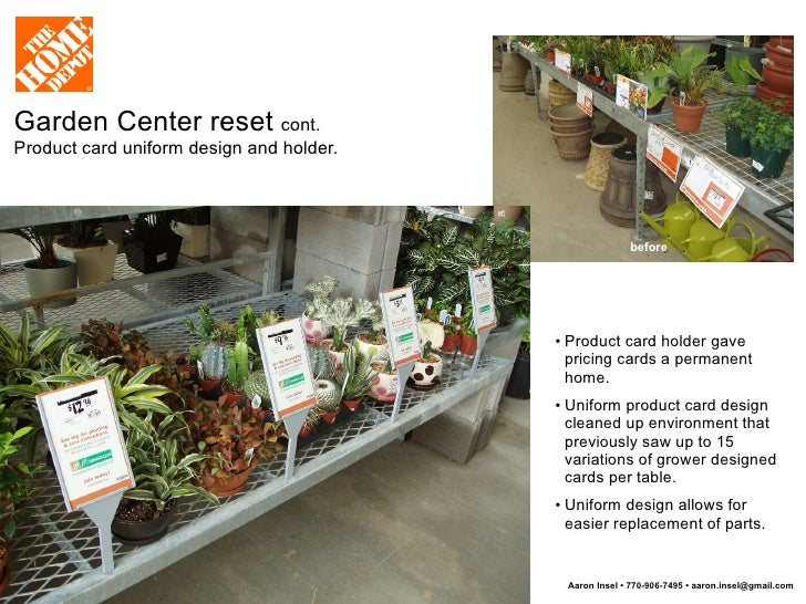 The Home Depot Visual Merchandising Signage Pop And