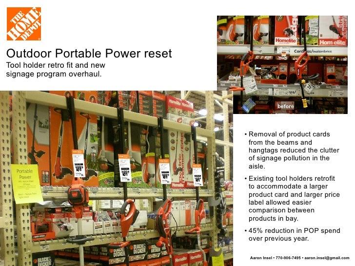 The Home Depot Visual Merchandising, Signage, POP And Fixture Design  Portfolio