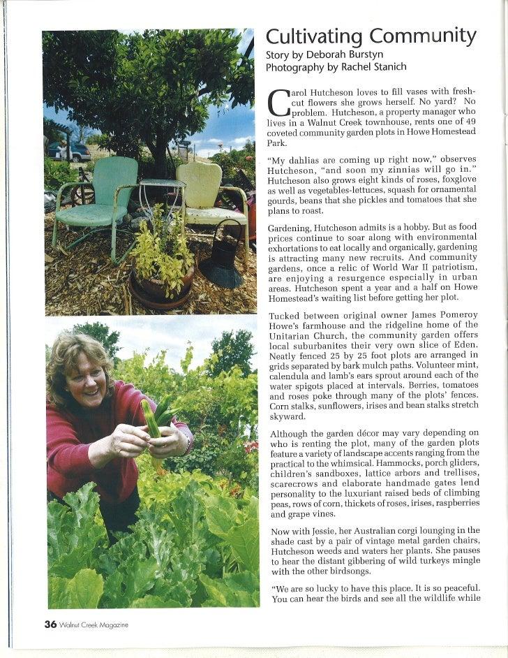 Howe Community Gardens