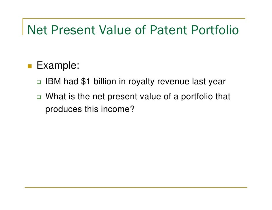 How Much Is Your Patent Portfolio Worth