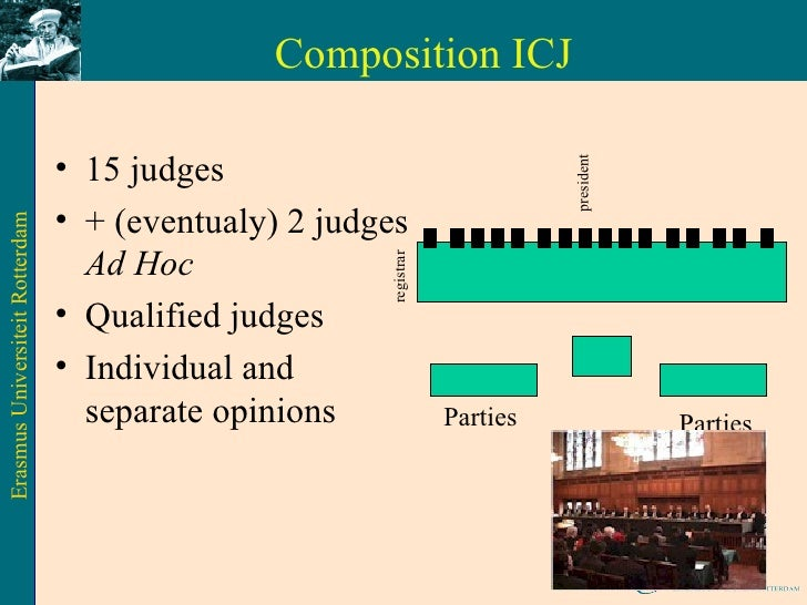 the composition powers and functions of the international court of justice Publications of the permanent court of international justice the role of the international court of justice as the principle judicial organ of the united nations (2003) the current court docket and composition.