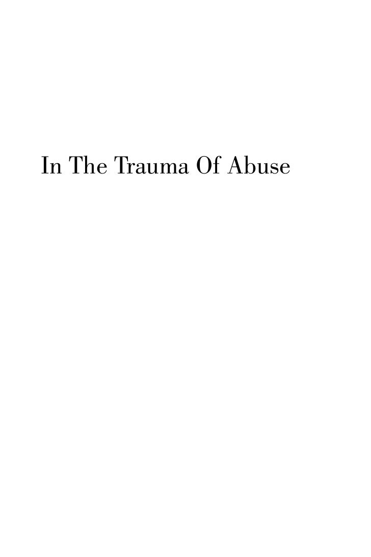 In The Trauma Of Abuse
