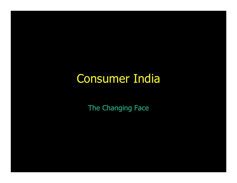 Consumer India   The Changing Face