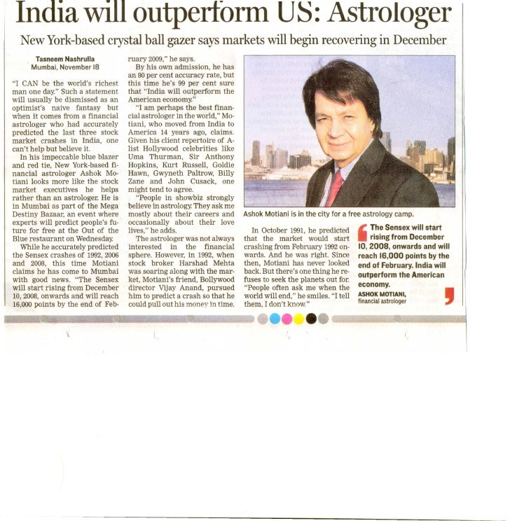India Will Outperform
