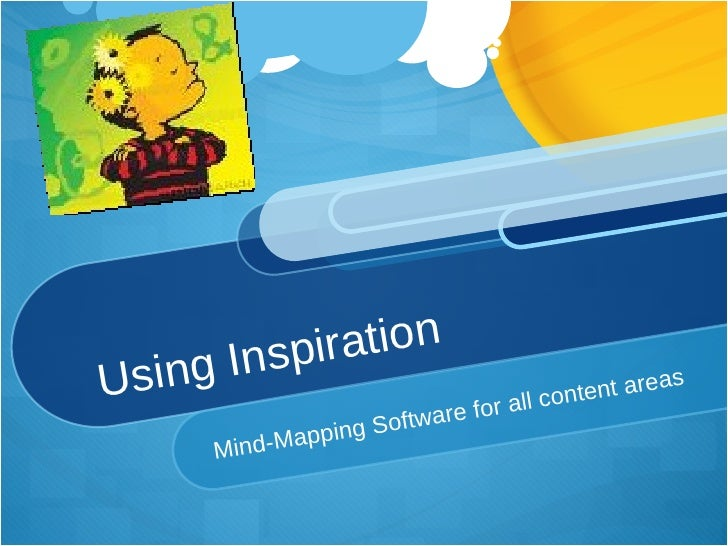 Using Inspiration Mind-Mapping Software for all content areas