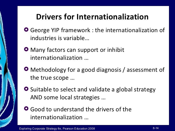 globalization drivers Having listened to distinguished luminaries such as prof ishwar dayal there is hardly very much i can add or contribute to the discourse initiated this morning.