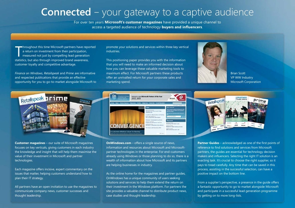 Integrated Joint Sales & Marketing Slide 2