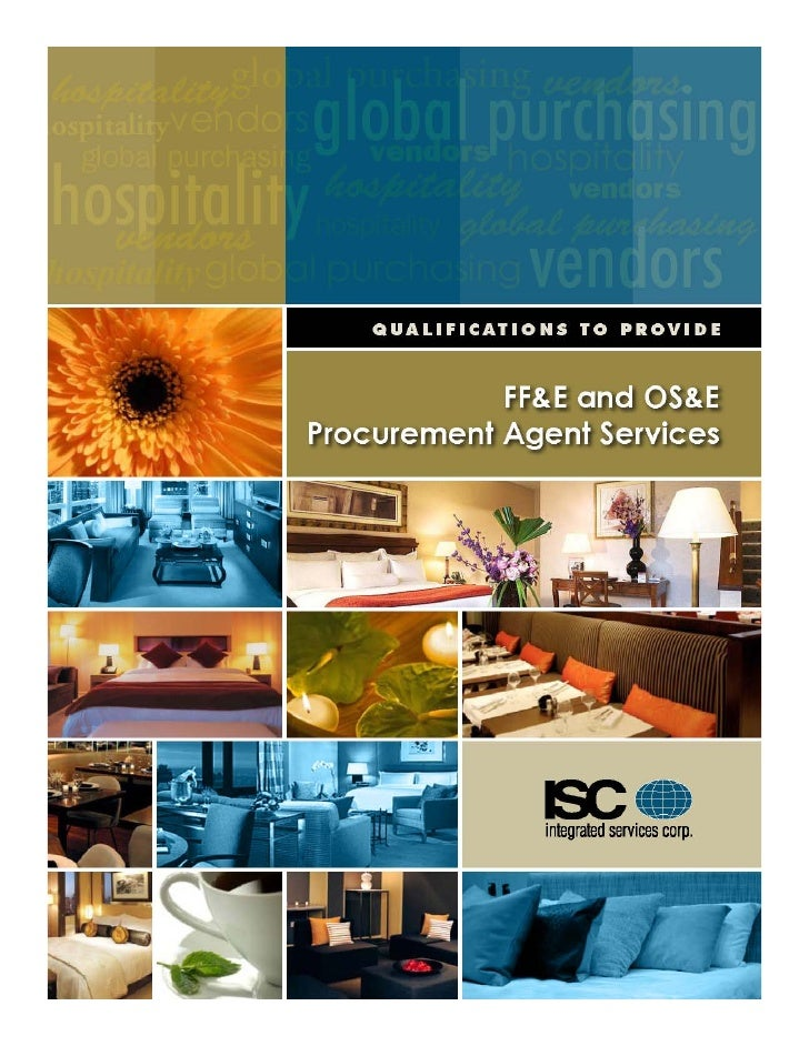 Overview Introduction ISC Formula for Success Procurement Project Management Services Consulting Services Available ISC Te...