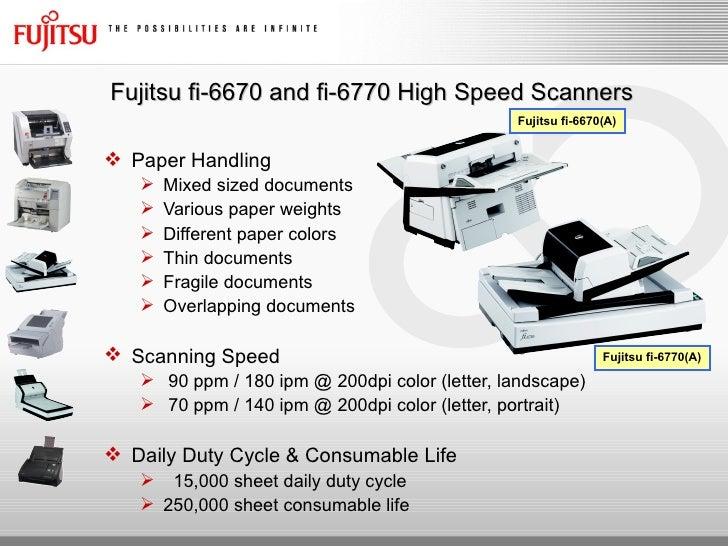 Fujitsu fi-6770 manual.