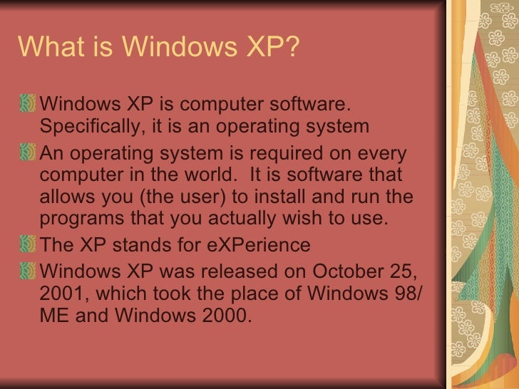 a description of the introduction of operating system windows 95 to the world After we're done reminiscing about the good old days of operating systems, let's reflect on the bad old days of operating systems as well after all, the bad times are still with us -- even in.