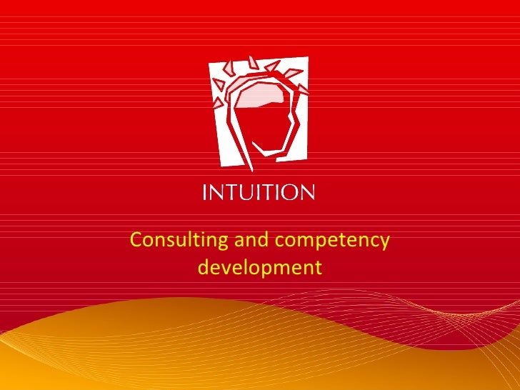 Consulting and competency development