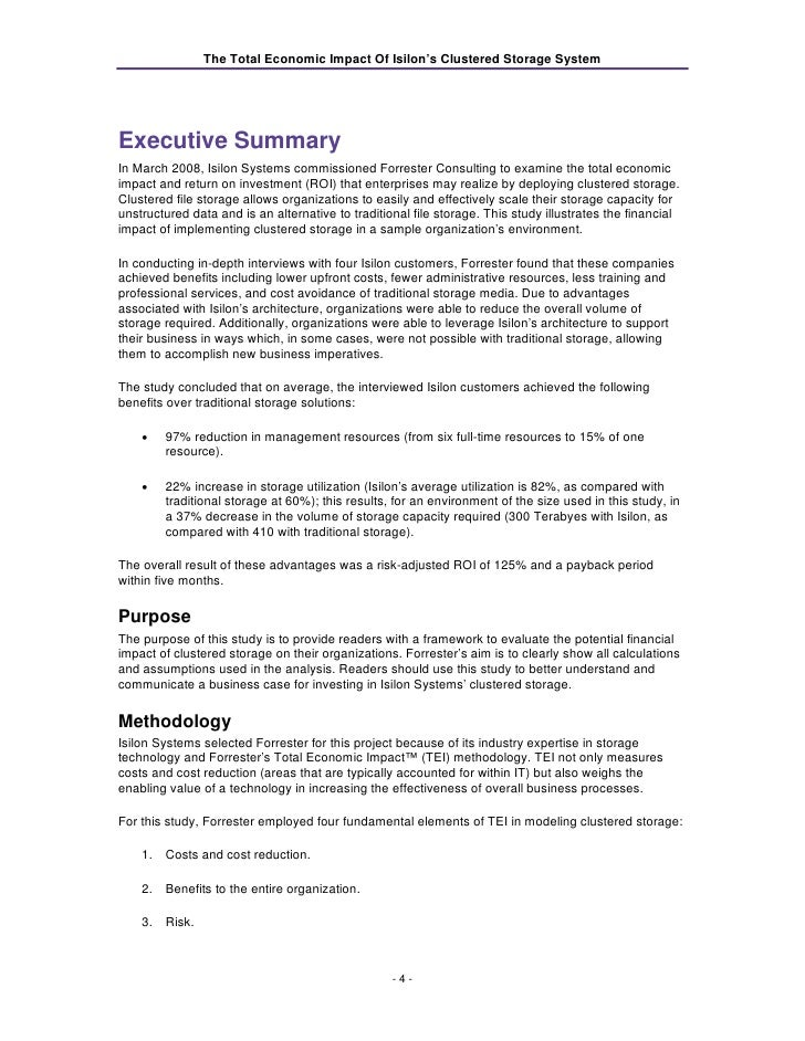 forrester co case study A multi-company cost savings and  findings and does not accept changes to the study that contradict forrester's findings or obscure the meaning of the study .