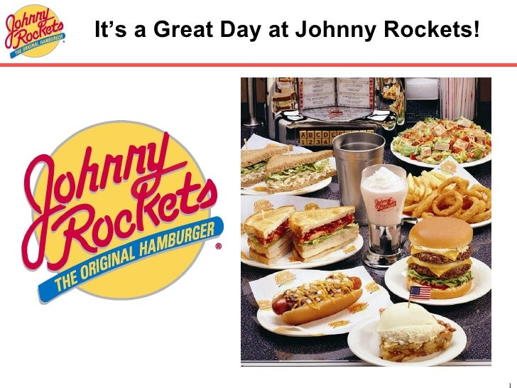 It's a Great Day at Johnny Rockets!