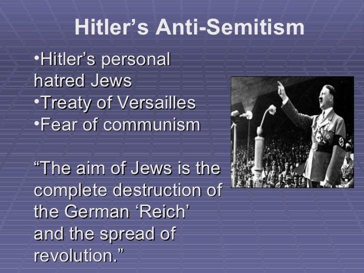 the history of antisemitism in germany Germans who grew up under the nazi regime are much more  we find strong  and significant effects of historical anti-semitism in all.