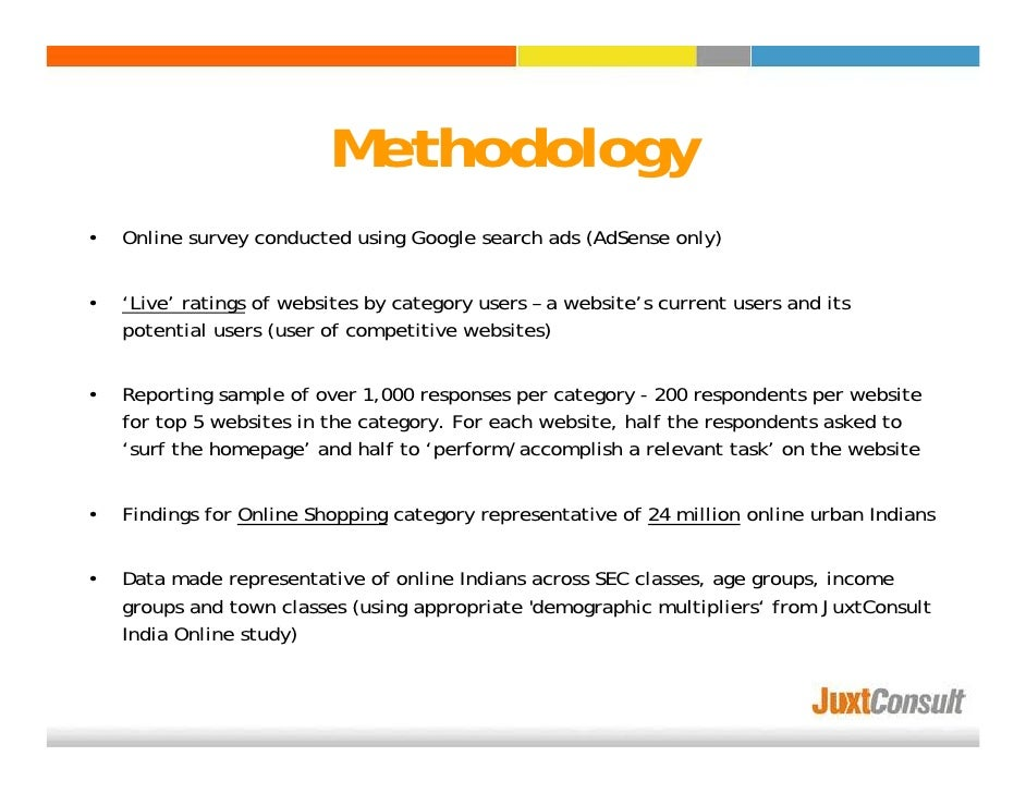methodology of online shopping