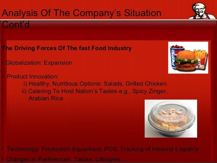 KFC andthe Global Fast Food Industry (703).