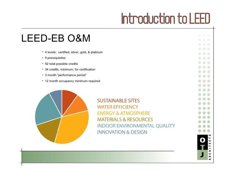 Leed Eb O M Basics