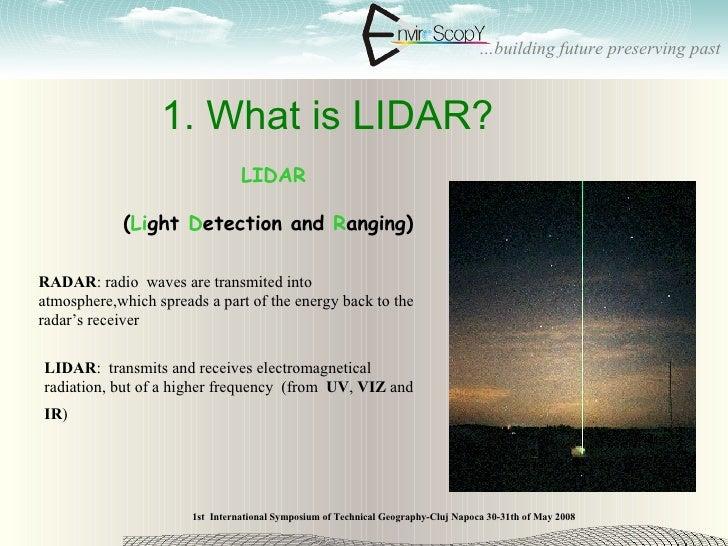 ADVANCED DTM GENERATION USING AIRBORNE LIDAR TECHNIQUE Slide 3
