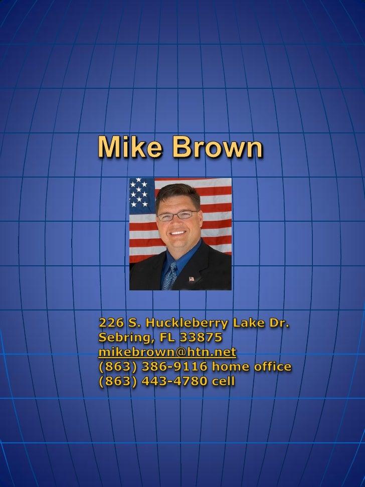•Graduate, DeSoto County High School •Attended U.S. Air Force Academy Preparatory School •Bachelors of Arts – Criminal Jus...