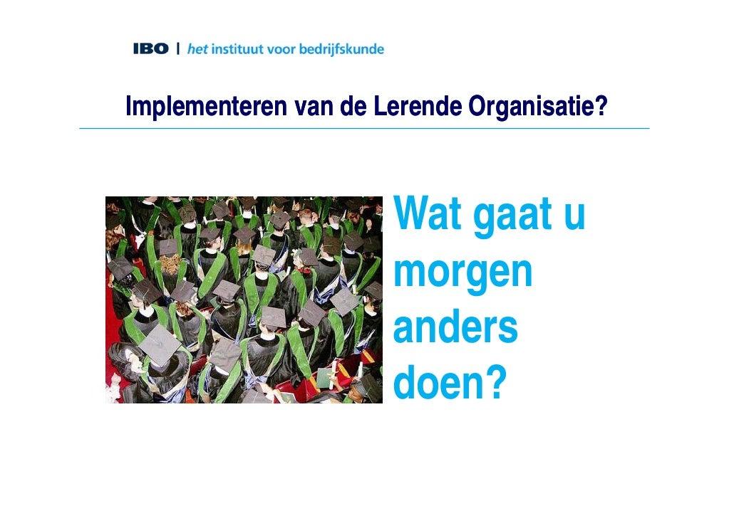 Lerende organisaties daan assen - Idee opslag cd ...