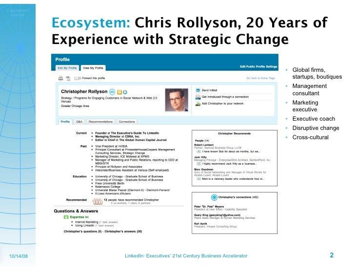 Linked In Exec4r Slide 2