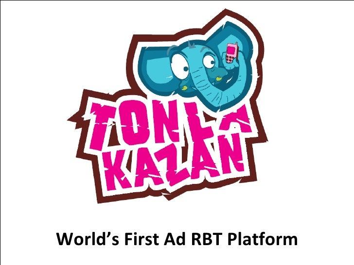 World's First Ad RBT Platform