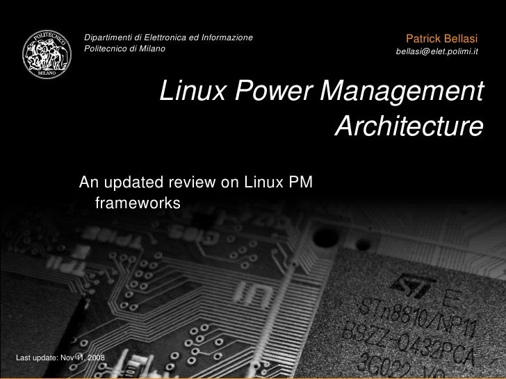 power management linux Power management from linux kernel to android 黃俊維 r97944026 資訊網路與多媒體所 王博榮 r97942139 電信工程研究所 1 introduction.
