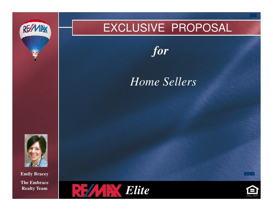 END                 EXCLUSIVE PROPOSAL                            for                    Home Sellers                     ...