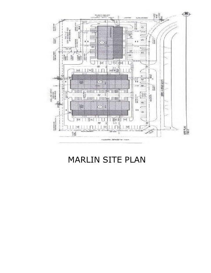 MARLIN SITE PLAN