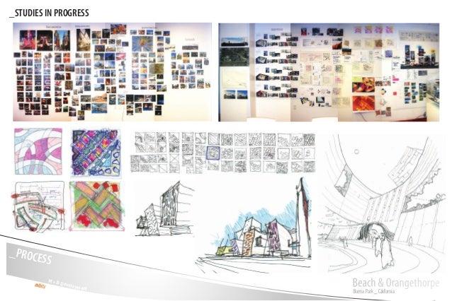 Buena Park _ California Beach & OrangethorpeM + D Development _PROCESS _STUDIES IN PROGRESS