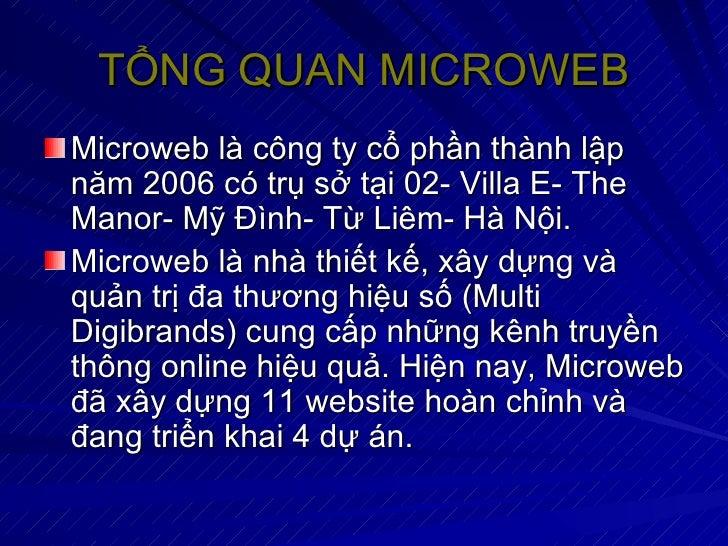 Microweb Slide 2
