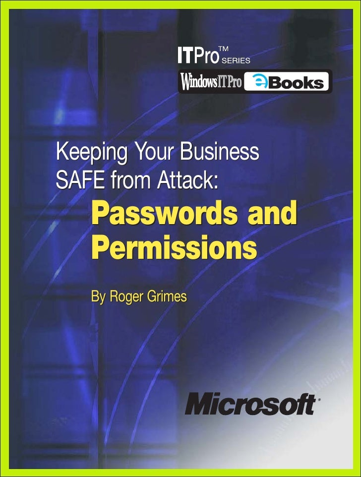 Ms Security Permissions Ch8